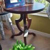 Occasional Side Table - Medium Brown