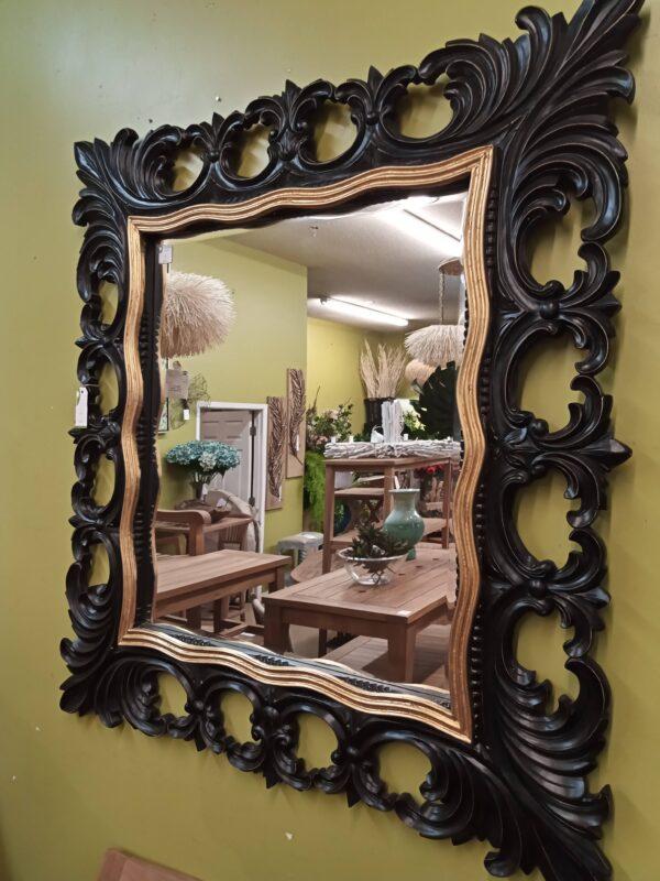 Manor Mirror - Black Electric