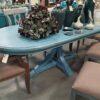 Davos Dining Room Table - Ocean Blue