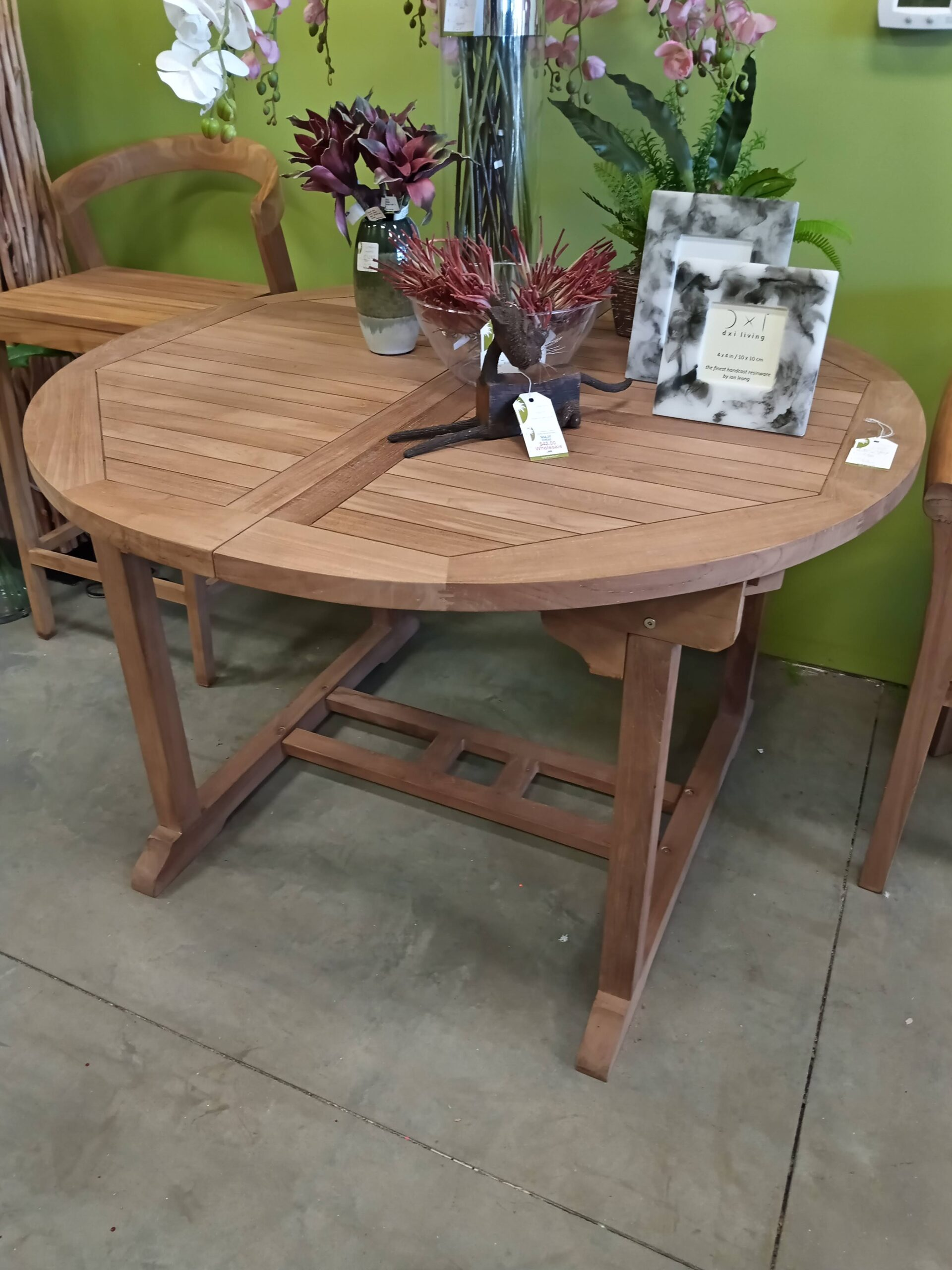 Melody Extension Teak Dining Table T Gregory Imports