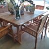 Melody Rectangle Extension Teak Dining Table - 6ft - 8ft