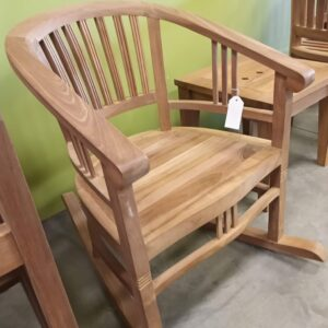Teak Batavia Rocking Chair