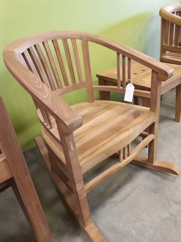 Teak Batavia Rocking Chair