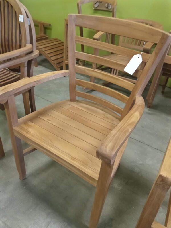 Teak Sabica Arm Chair