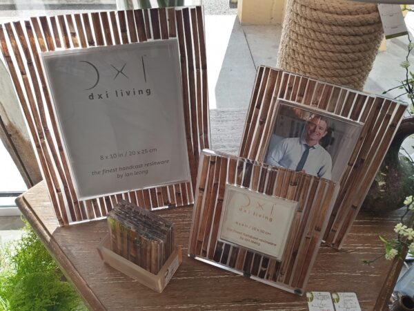 Brown Bamboo Photo Frames