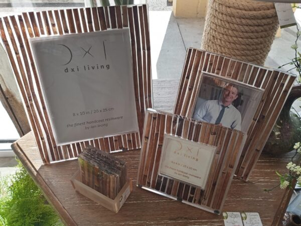 Brown Bamboo Photo Frames