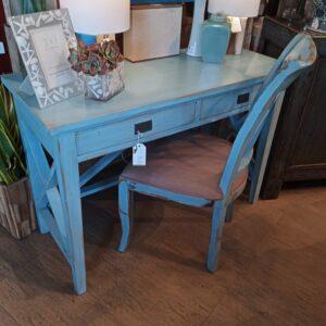 X Desk - Ocean Blue