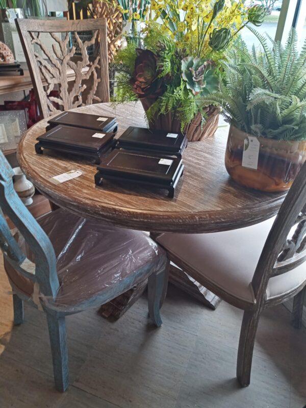 Ziad Dining Table - 4ft - Pecan