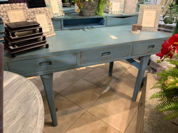 Piano Desk - Ocean Blue