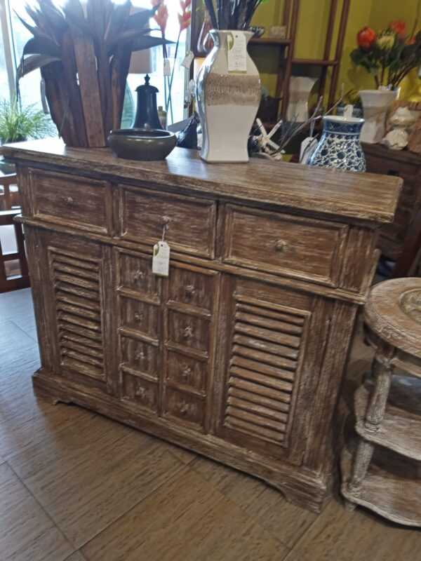 Large Crosby Console - Pecan