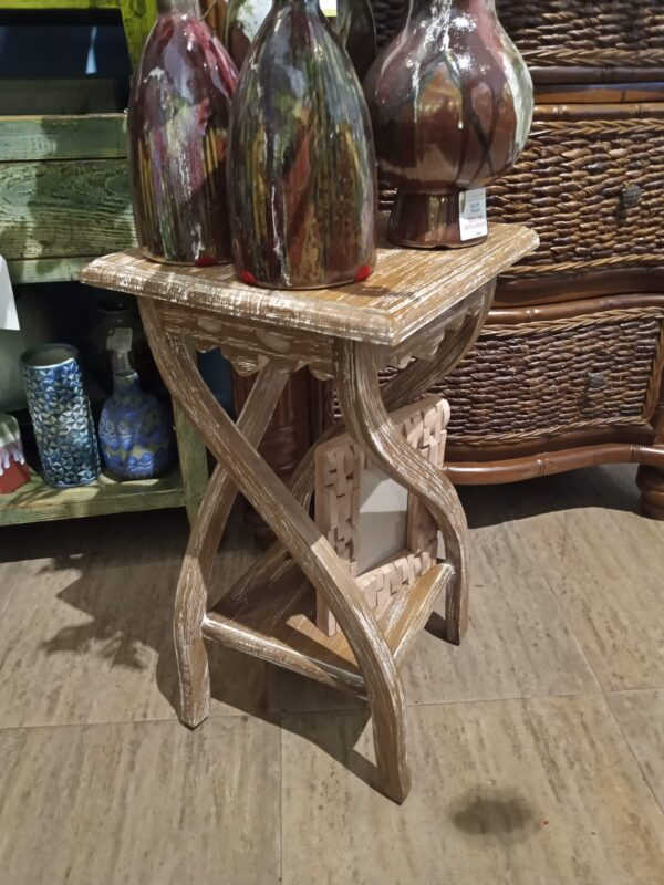 Nesting Side Table - Small - Pecan