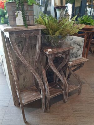 Nesting Side Tables - Pecan