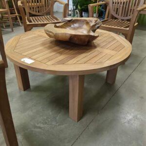 C Teak Coffee Table - Round