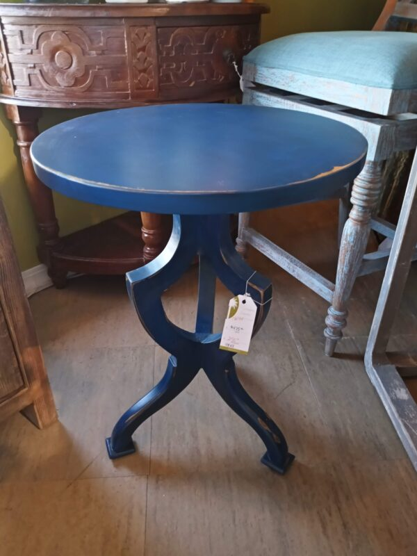 Occasional Side Table - Electric Blue