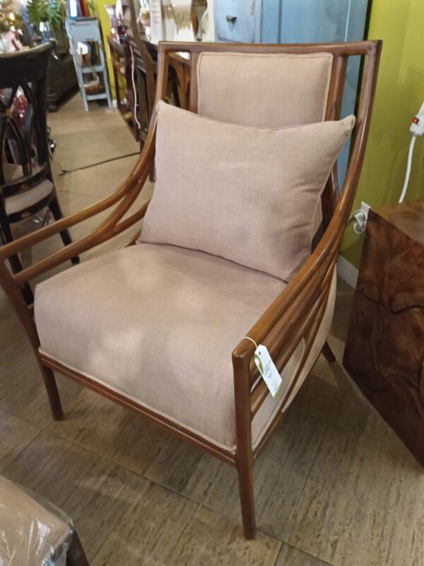 Crescent Chair & Ottoman