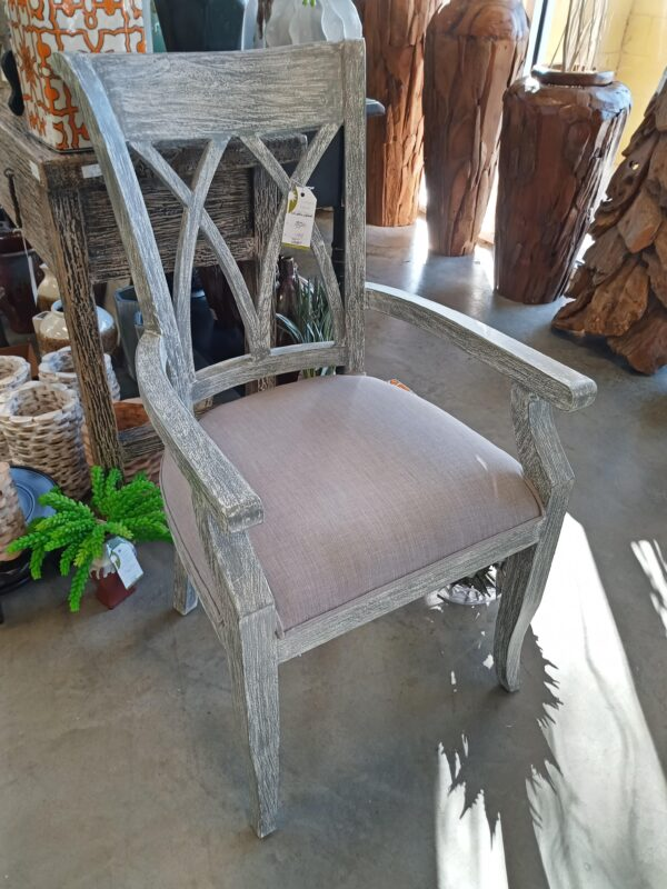 XX Dining Arm Chair - Grey