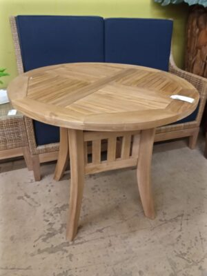 Basket Teak Table - 3ft