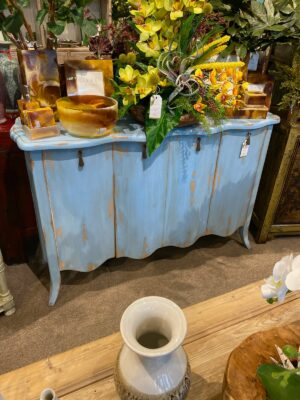 Hardwood Buffet - Ocean Blue
