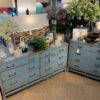 Done Minimalist Chest of Drawers - Ocean Blue