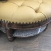 Ottoman with Cushion and Drawer - Pecan