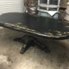 Davos Dining Room Table - Black Electric