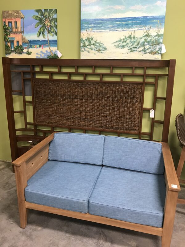 Diamond Teak Bench - 2 Seater