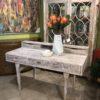 Piano Desk - White Wash