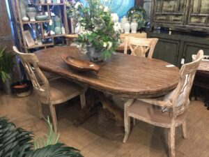 Davos Dining Room Table - Pecan