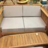 Diamond Teak Bench - 2 Seater