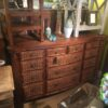 Tropical Dresser - Medium Brown