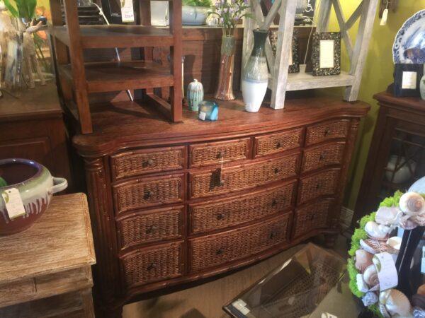 Tropical Dresser - Medium Brown