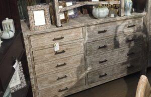 9-Drawer Slat Dresser