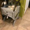 Canoli Side Table - Grey