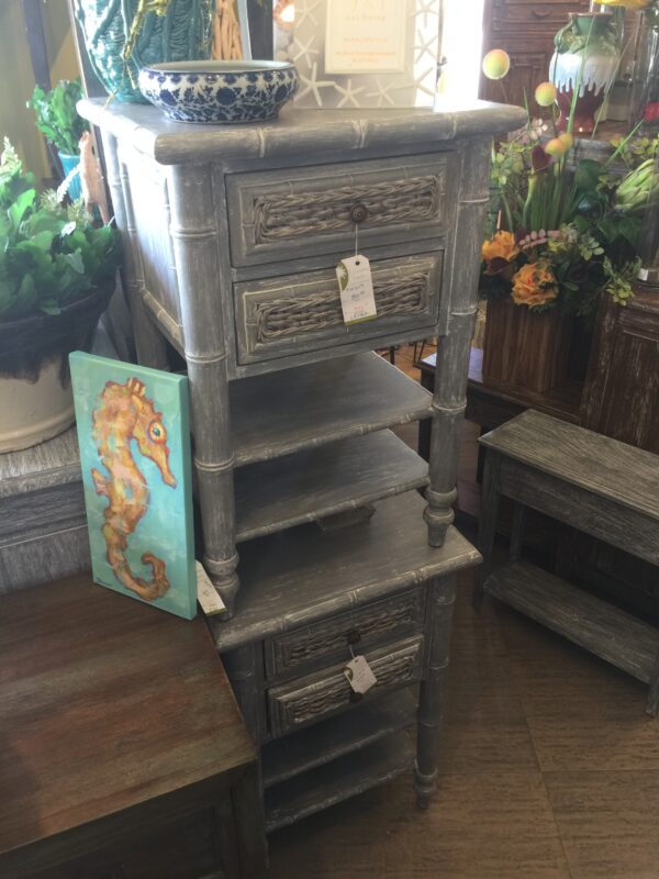 Tropical Nightstand - Grey