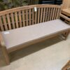 English 3-Seater Teak Bench