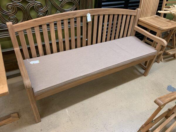 English 3-Seater Teak Bench