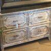 4-Drawer Filing Cabinet - White Wash