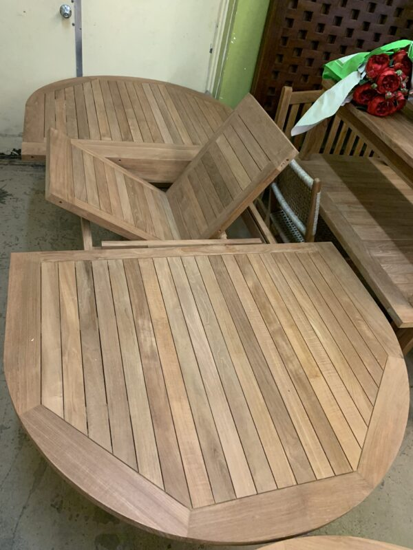 Melody Extension Teak Dining Table
