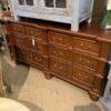 Manor Dresser - Medium Brown