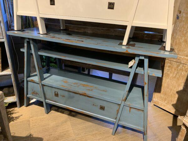A-Frame Console - Ocean Blue