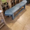 2-Seater Fish Bench - Ocean Blue