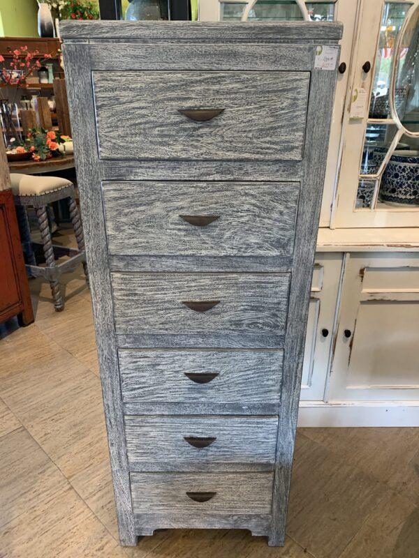 6 Drawer Chest - Grey