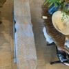 2-Seater Fish Bench - Blue Wash