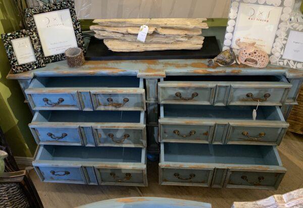 Manor Dresser - Ocean Blue