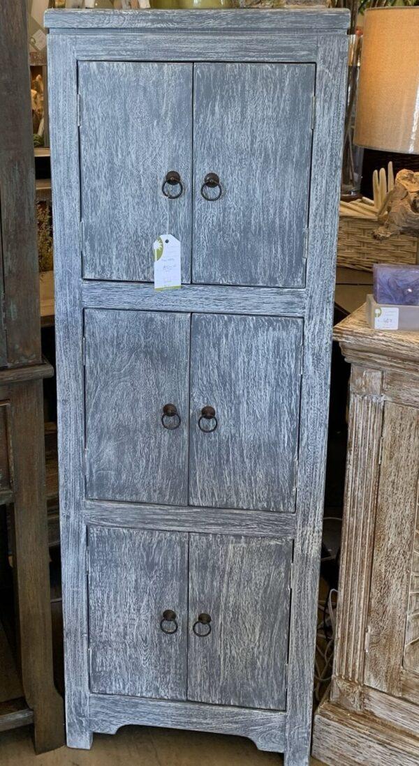 6-Door Chest - Grey