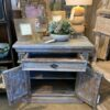 Van Buren Night Stand - Blue Wash