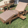 Diva Lounger - 3 Fold - Arms