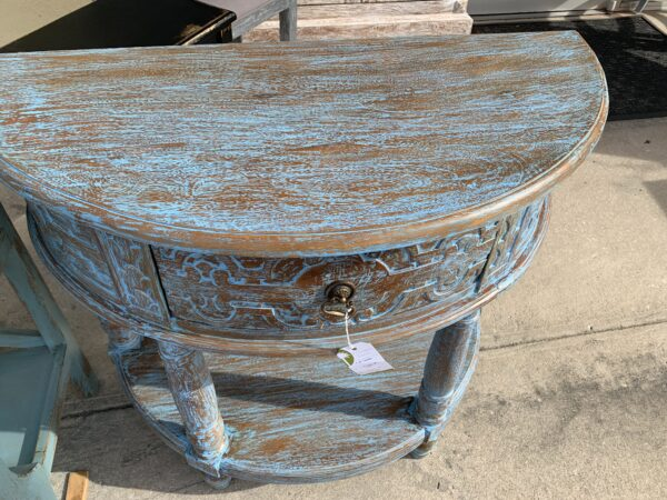 Manor Console - Blue Wash