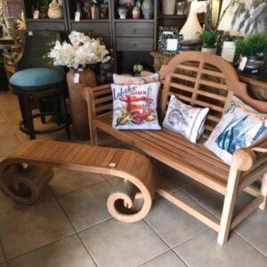 Marlboro Teak Couch - 2 Seater