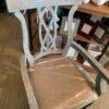 Kamila Ribbon Arm Chair - Blue Wash